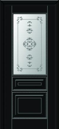 Наполеон до черная эмаль серебро